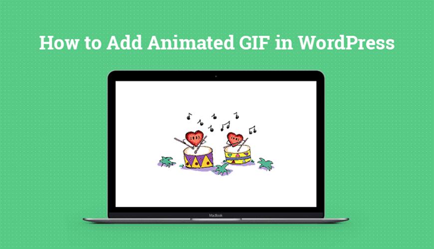 آموزش نحوه افزودن فایل گیف در وردپرس / نحوه اضافه کردن فایل های گیف