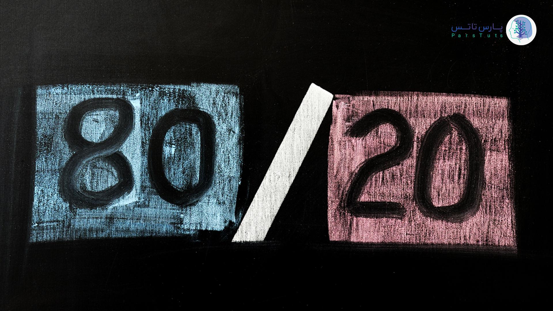 قانون 8020 در فروش