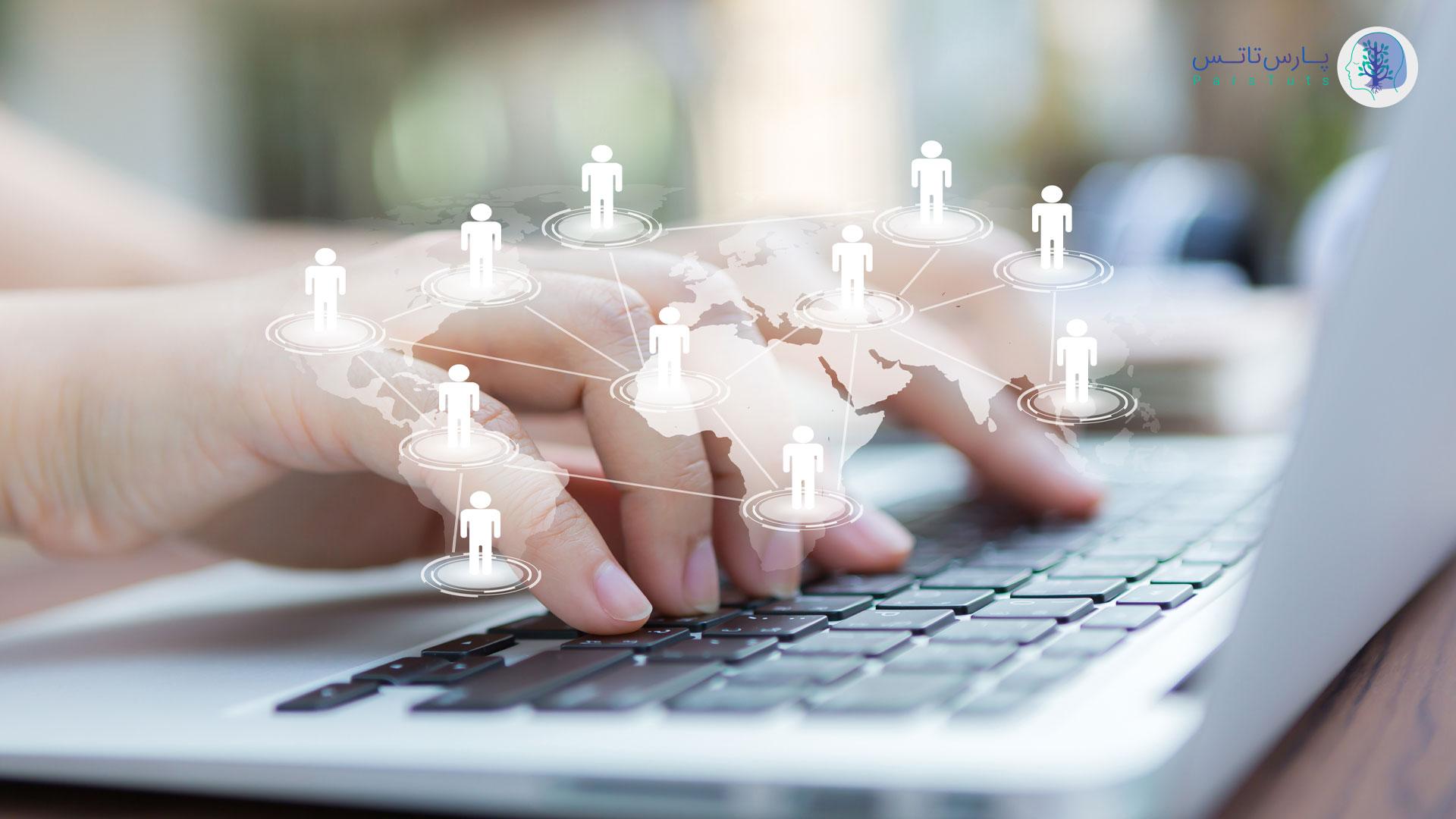 جست و جو در اینترنت و دانش در مورد کار تخصصی